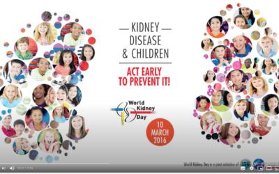 Día mundial del riñón 2016
